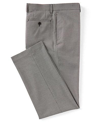 Ralph Ralph Lauren Slim Fit Flat Front Pattern Dress Pants