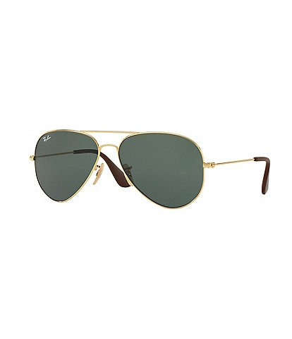 Ray-Ban Matte Black Aviator Sunglasses