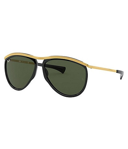 Ray-Ban Aviator Top Bar Olympian Sunglasses