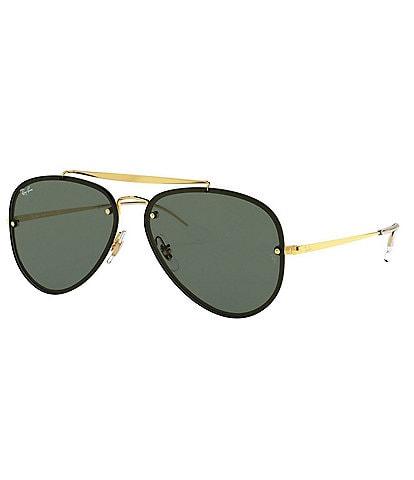 Ray-Ban Blaze Aviator 61mm Sunglasses