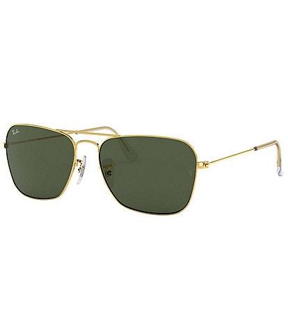 Ray-Ban Caravan Rectangular 58mm Sunglasses