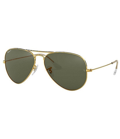 Ray-Ban Classic Aviator Polarized 55mm Sunglasses