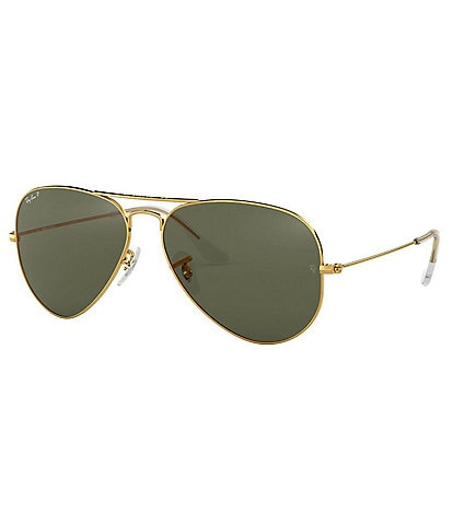 Ray-Ban Classic Aviator Polarized 62mm Sunglasses