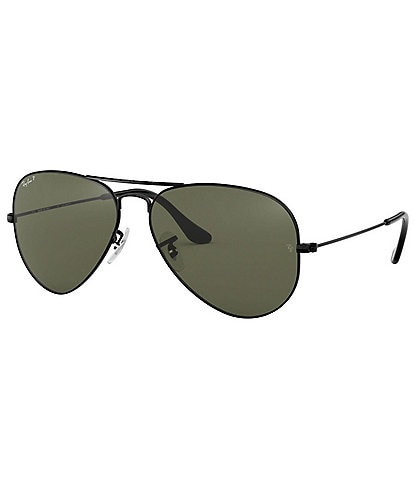 Ray-Ban Classic Aviator Polarized 62mm Sunglasses
