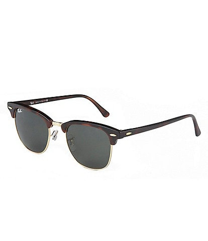 Ray-Ban Clubmaster® Classic UV Protection Square Sunglasses