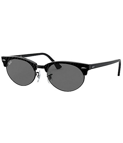 Ray-Ban Clubmaster Oval 52mm Sunglasses