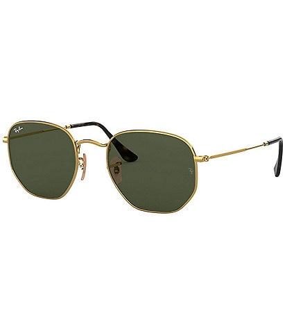 Ray-Ban Hexagonal Flat Lenses 51mm Sunglasses