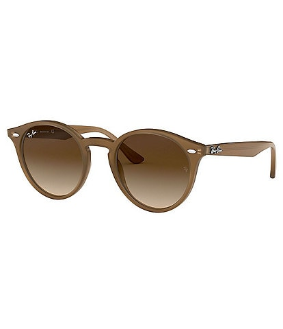 Ray-ban Highstreet Round 51mm Sunglasses