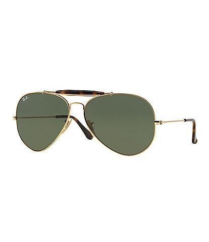 cdf609e123e Ray-Ban Icon Outdoorsman II Double Bridge Aviator Sunglasses