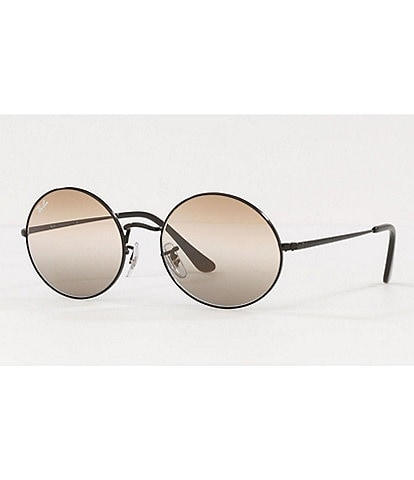 Ray-Ban Icons Legend Gold Oval Frame Sunglasses
