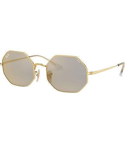Ray-Ban Icons Octagon Frame Polarized Sunglasses