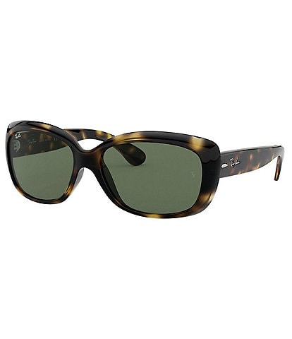 Ray-Ban Jackie Ohh Rectangular 58mm Sunglasses