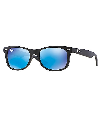Ray-Ban Jr Children's Mirrored Wayfarer Sunglasses