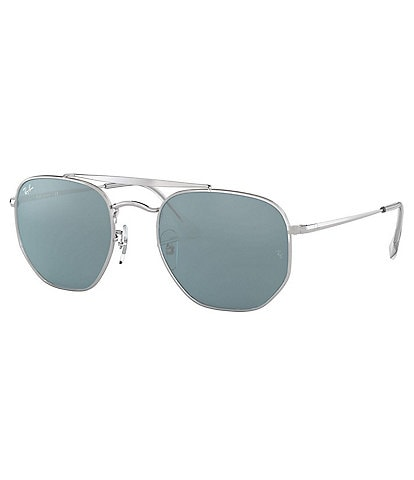 Ray-Ban Marshal Mirrored Hexagonal 54mm Sunglasses
