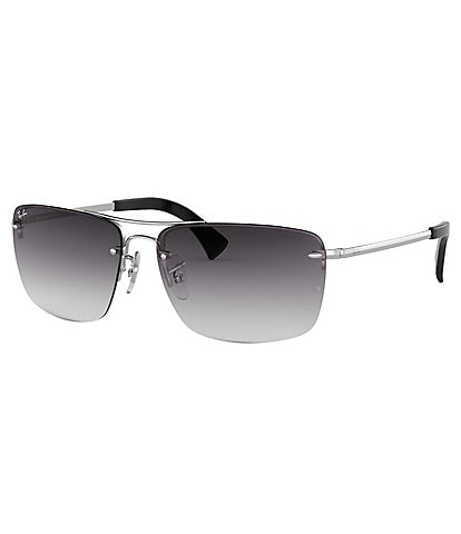 Ray-Ban Men's Gradient Rectangle Sunglasses