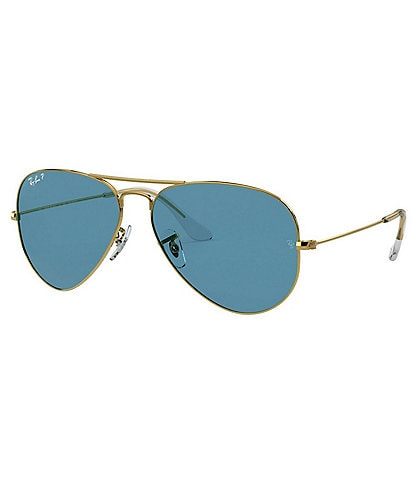 Ray-Ban Men's Legend Pilot Polarized 58mm Sunglasses