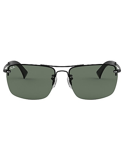 Ray-Ban Men's Solid Rectangle Sunglasses