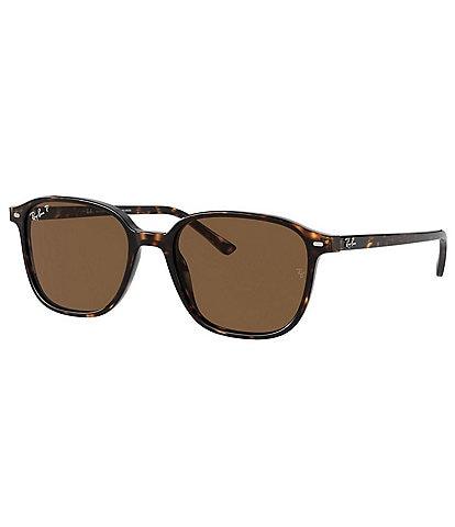 Ray-ban Men's Square Polarized 53mm Sunglasses