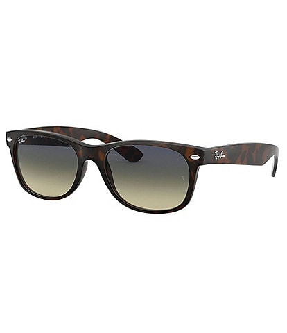 Ray-Ban Oversized Polarized Wayfarer Sunglasses