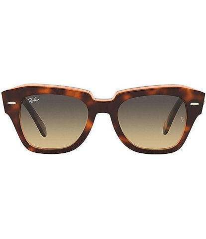 Ray-Ban RB2186 State Street Square Lens Acetate Frame Sunglasses