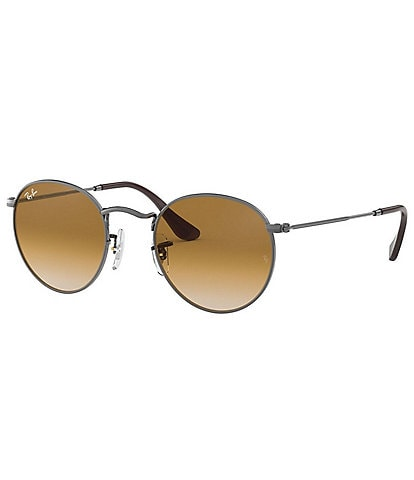 Ray-Ban Round 53mm Gradient Metal Sunglasses