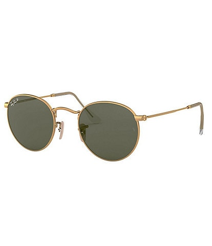 Ray-Ban Round Polarized 50mm Sunglasses