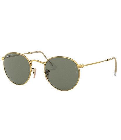Ray-Ban Round Polarized 50mm Sunglasses