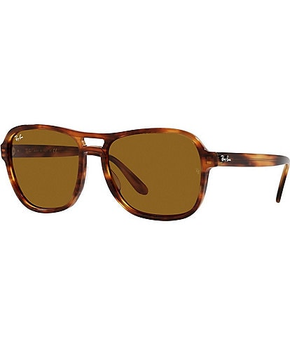 Ray-Ban Unisex Rb4356 58mm Square Sunglasses