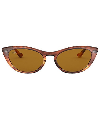 fa3b8a9c29 Ray-Ban Women s Nina Cat Eye Sunglasses