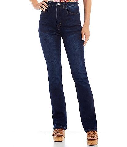 Reba Angel Full Length High Rise Jeans
