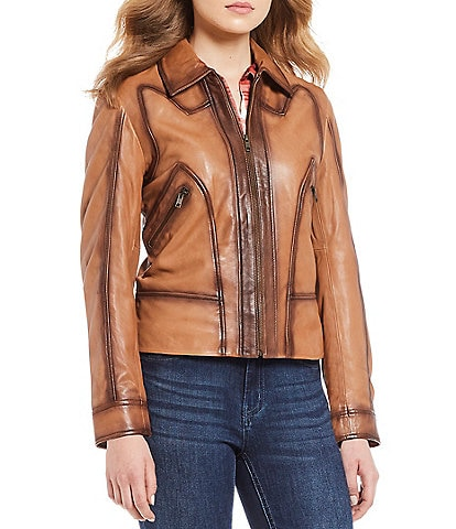 Reba Genuine Leather Jacket