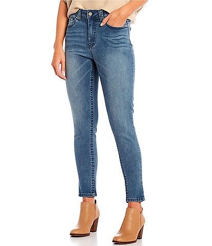 Reba Tanya Denim Skinny Ankle Jean