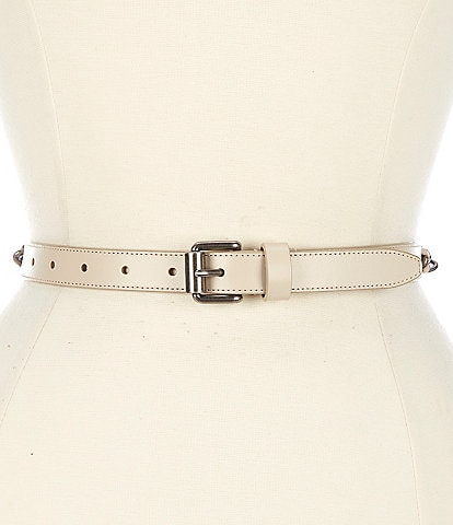 REBECCA MINKOFF 0.8#double; Laced Chain Belt