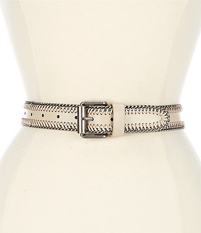 REBECCA MINKOFF 1.4#double; Laced Chain Belt
