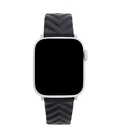 Rebecca Minkoff Chevron Embossed Leather Apple Watch® Strap