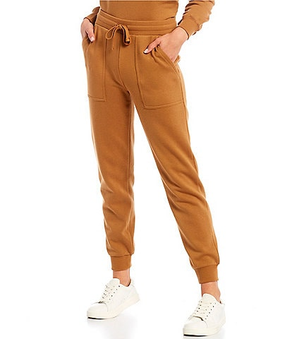 REBECCA MINKOFF Nora Drawstring Cinched Waist Cuffed Ankle Joggers