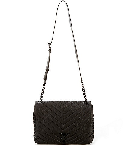 REBECCA MINKOFF Edie Nylon Jumbo Flap Shoulder Bag
