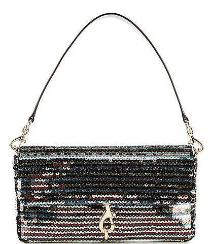 REBECCA MINKOFF Edie Sequins Baguette Shoulder Bag