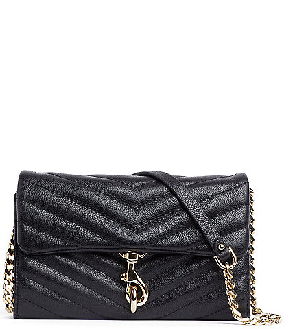 REBECCA MINKOFF Edie Wallet On Chain Crossbody Bag