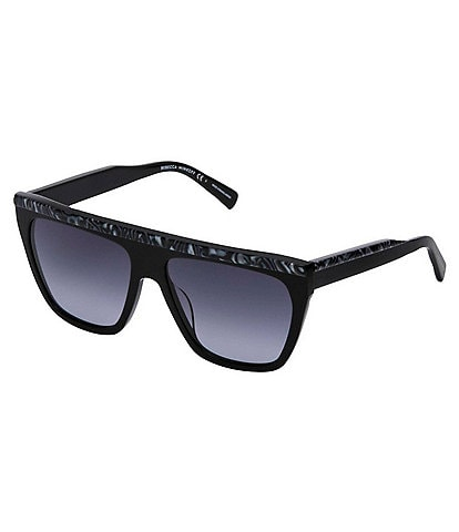 REBECCA MINKOFF Jane Flattop Square Sunglasses