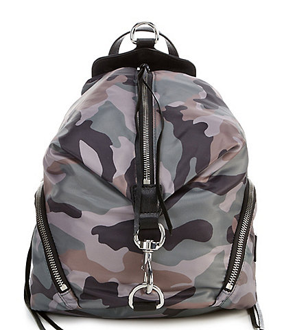 REBECCA MINKOFF Julian Nylon Camo Backpack