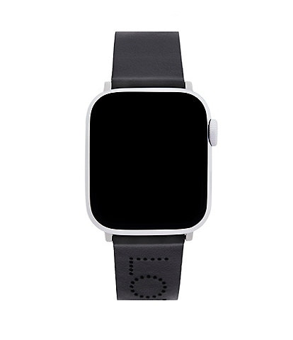 Rebecca Minkoff Love Black Leather Apple Watch® Strap