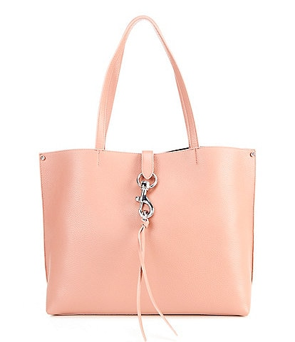 REBECCA MINKOFF Megan Leather Snap Tote Bag