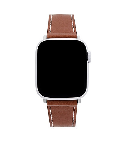 REBECCA MINKOFF Saddle Leather Apple Watch® Strap