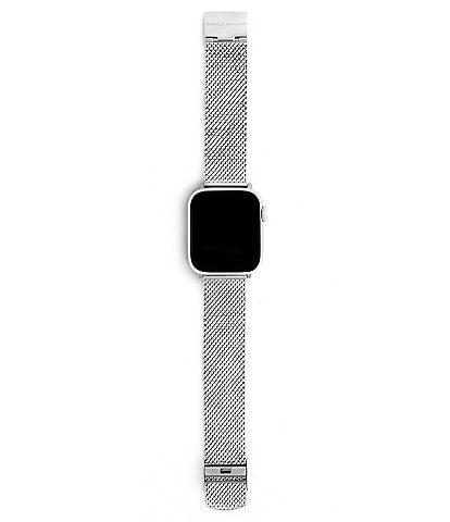 REBECCA MINKOFF Silver Mesh Apple Watch® Strap