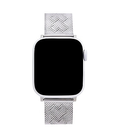 Rebecca Minkoff Silver Mesh Bracelet Apple Watch Strap