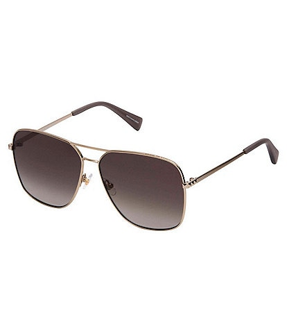 REBECCA MINKOFF Stevie Metal Navigator Sunglasses