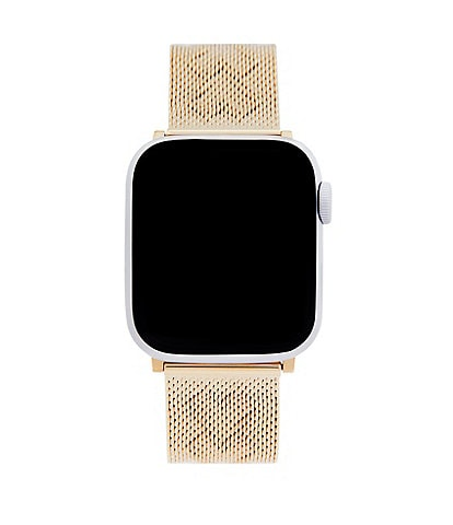 REBECCA MINKOFF Two Tone Mesh Apple Watch® Strap