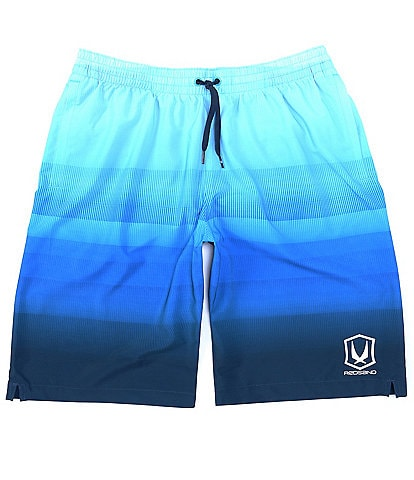 Redsand Ombre Fade 22#double; Outseam Volley Shorts