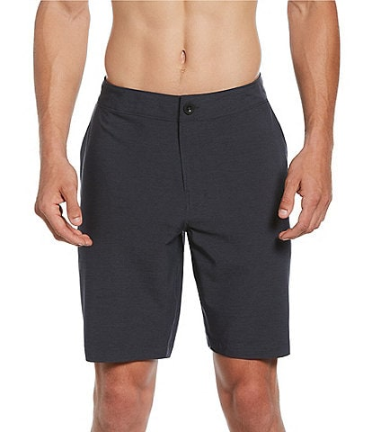 Redsand Solid Heather 20#double; Outseam Hybrid Shorts